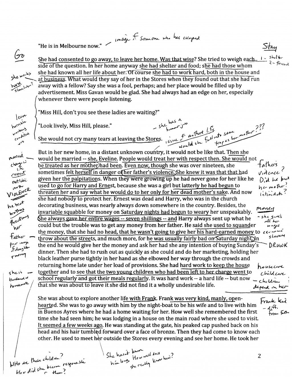 016 Annotate4 How To Annotate An Essay Wondrous A Movie In Critical Large