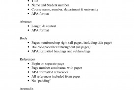 016 Apa Format Example Phenomenal Essay Paper 6th Edition Sample With Abstract Word Doc