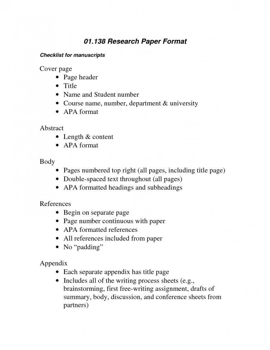 016 Apa Format Example Phenomenal Essay Sample Paper For College With Abstract 868
