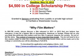 016 Avonscholarshipessaycontest2012flyer Essay Example Shocking Scholarships 2018 Canada 2019 No For High School Juniors 320