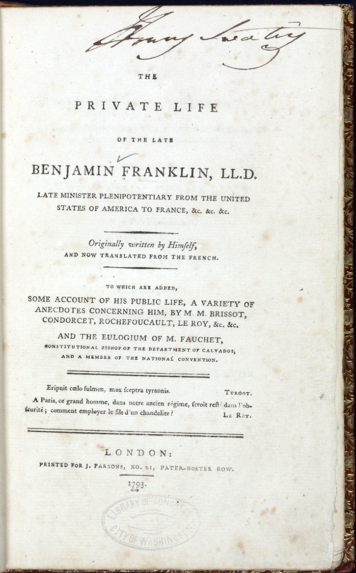 016 Ba0009 Enlarge Benjamin Franklin Essay Unbelievable Thesis Statement Conclusion Full