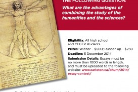 016 Bachelor Of Humanities Essay Contest Contests Imposing 2014 Maryknoll Winners