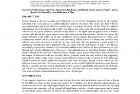 016 Bacons Essays Essay Example Amazing Bacon In Urdu Pdf Of Truth Summary