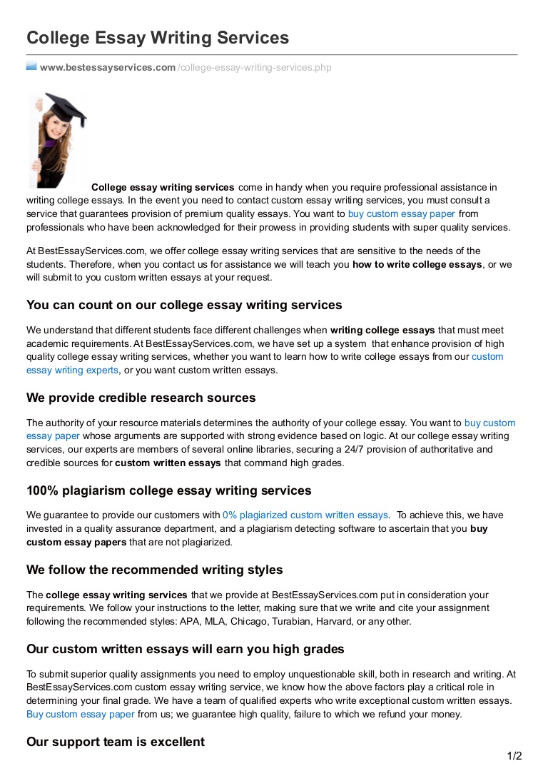 016 College Essay Service Example Bestessayservices Thumbnail Awful Writing Reviews Services Cheap Full