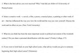 016 College Essay Topics Free Sample Example Argumentative Rare Prompts For 7th Graders High School Pdf