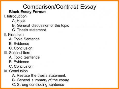 016 Compare Contrast Essay Outline For Slide Entire Visualize Bleemoo Innd Block Method Example How To Awesome A And Create An 480