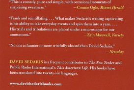 016 David Sedaris Essays Essay Example Fascinating New Yorker Calypso
