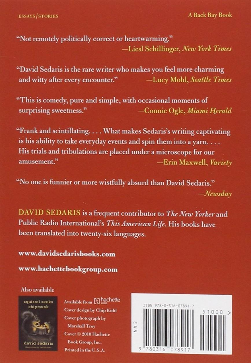 016 David Sedaris Essays Essay Example Fascinating New Yorker Calypso
