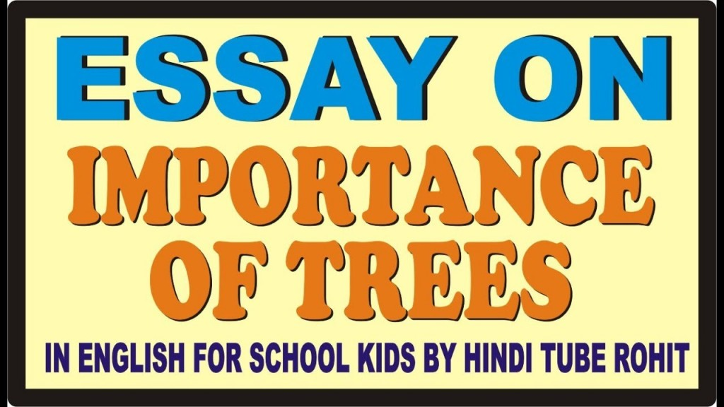016 Description Of Trees For Essays Essay Example Striking Large