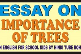 016 Description Of Trees For Essays Essay Example Striking