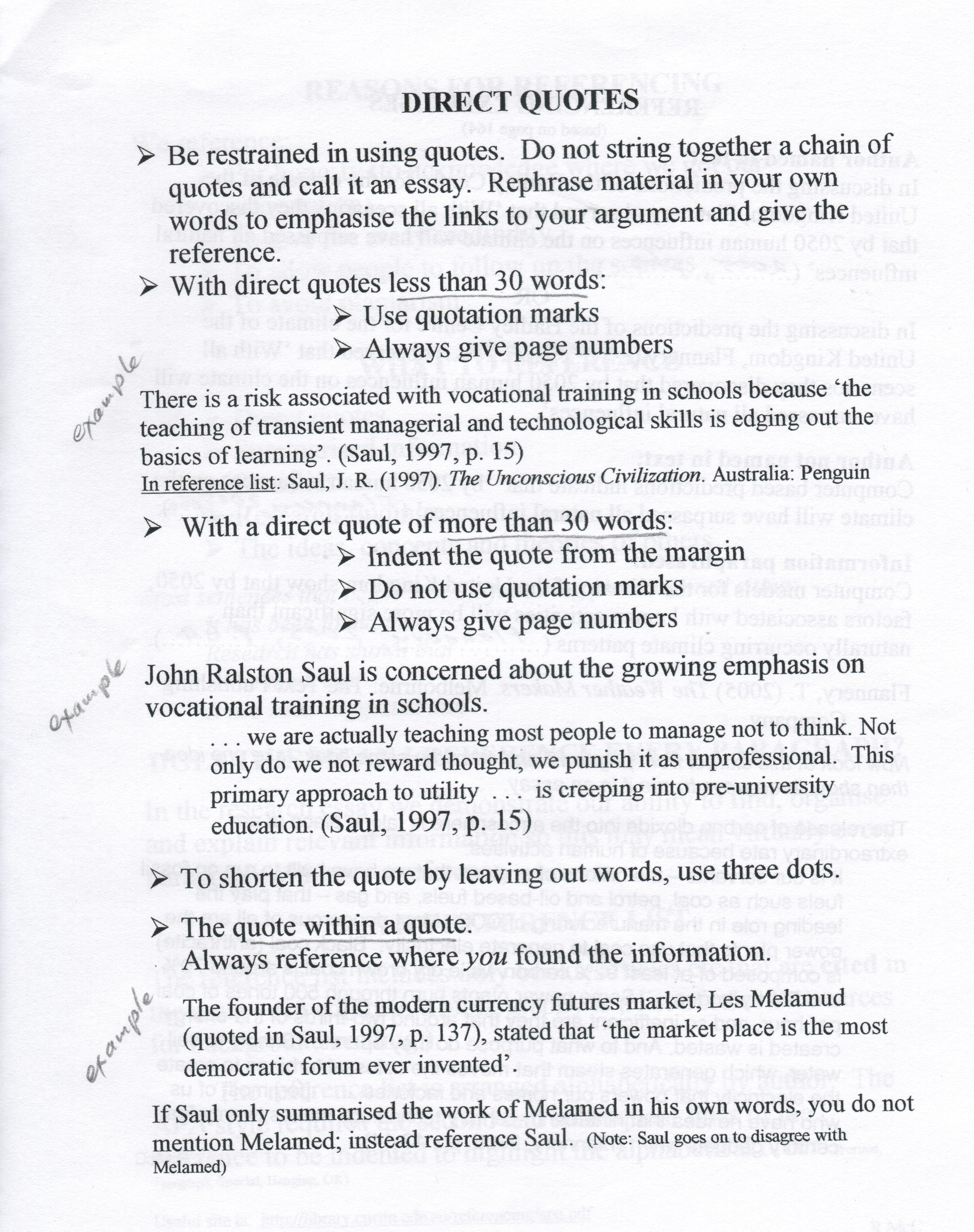 016 Direct Quotes How To Write An Essay With Imposing In Mla Integrate Quotations Writing Essays-apa Or Include A Quote Apa Full