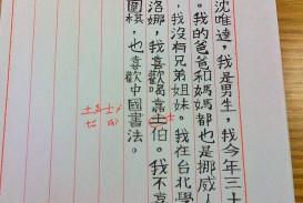 016 Essay Chinese Amazing Art Topics Vce Formats Sheet