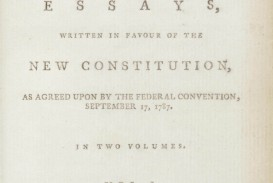 016 Essay Example Alexander Hamilton Essays 2012 Nyr 02622 0043 000the Federalist Papers  James Madison And John Jay Frightening 51 78 Did Wrote