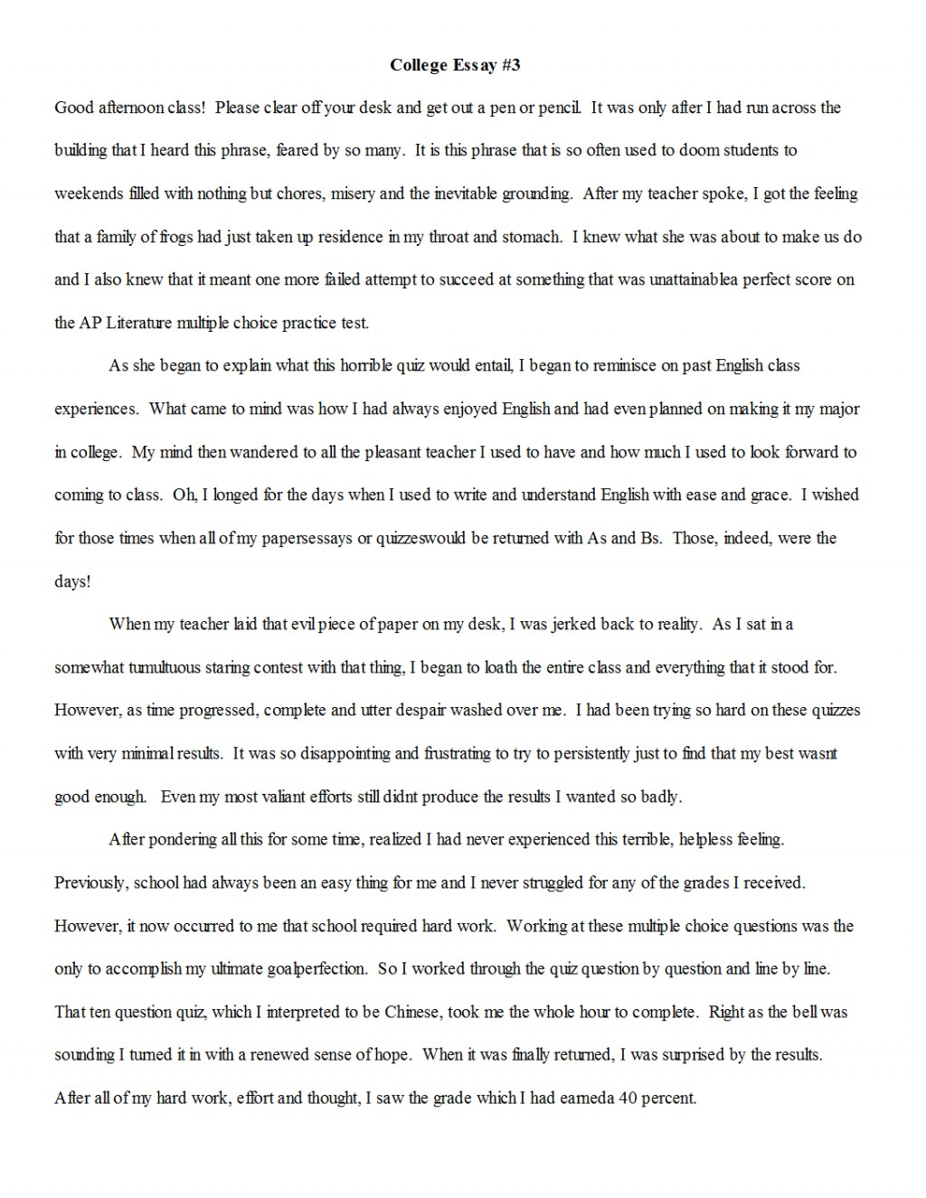 016 Essay Example Beneficial Narrative Examples Samples What To Write My College On Quiz P6kny E3o0 Should I About Unbelievable Narration Format Outline Pdf Large