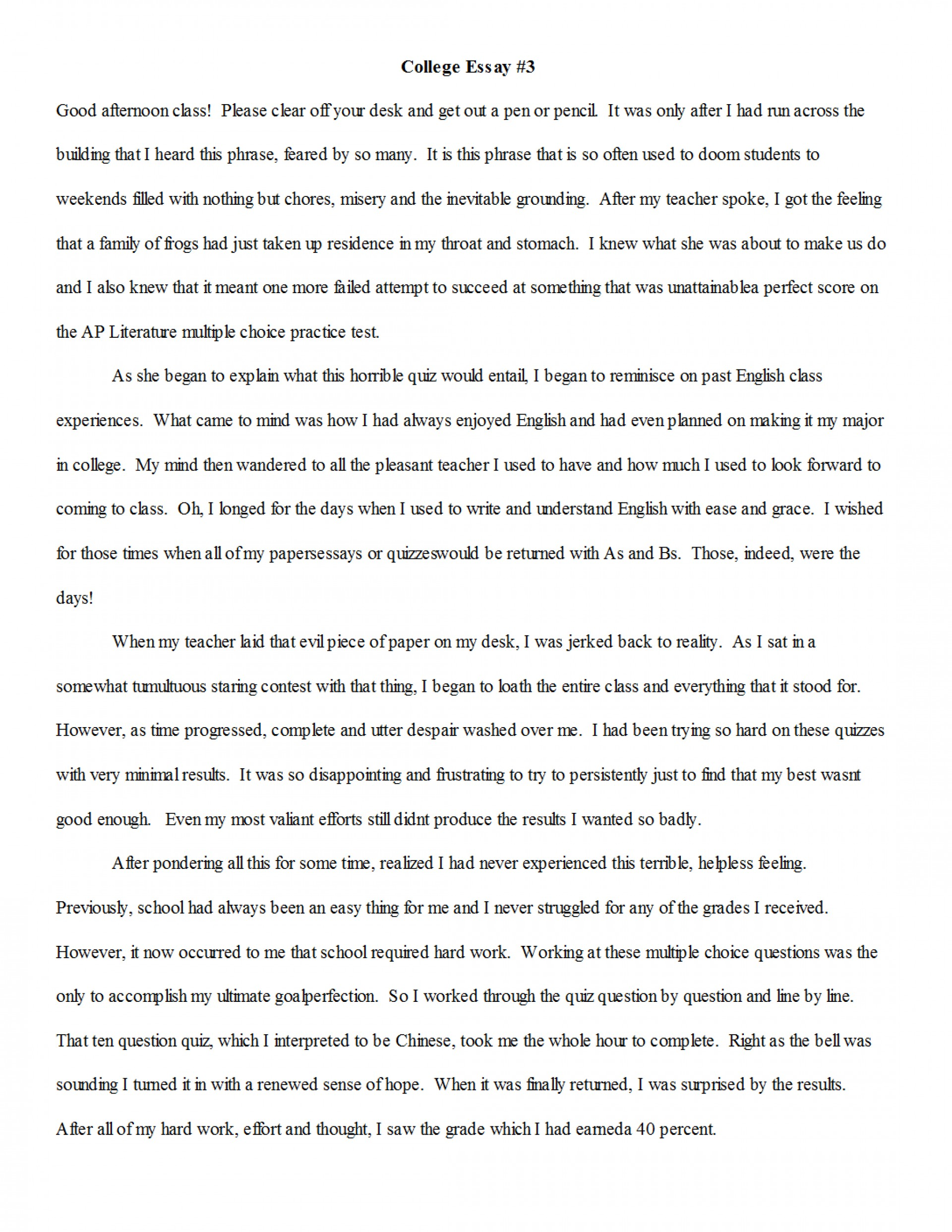 016 Essay Example Beneficial Narrative Examples Samples What To Write My College On Quiz P6kny E3o0 Should I About Unbelievable Narration Format Outline Pdf 1920