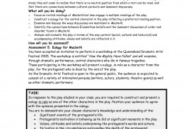 016 Essay Example Best Photos Of Art Appreciation Diabetes Research Paper Formal Macbeth Outline L Marvelous On And Lady Macbeth's Relationship Literary As A Tragic Hero Plan