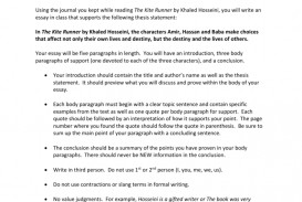 016 Essay Example Character 009664657 1 Wondrous Introduction For Nhs Writing Prompts