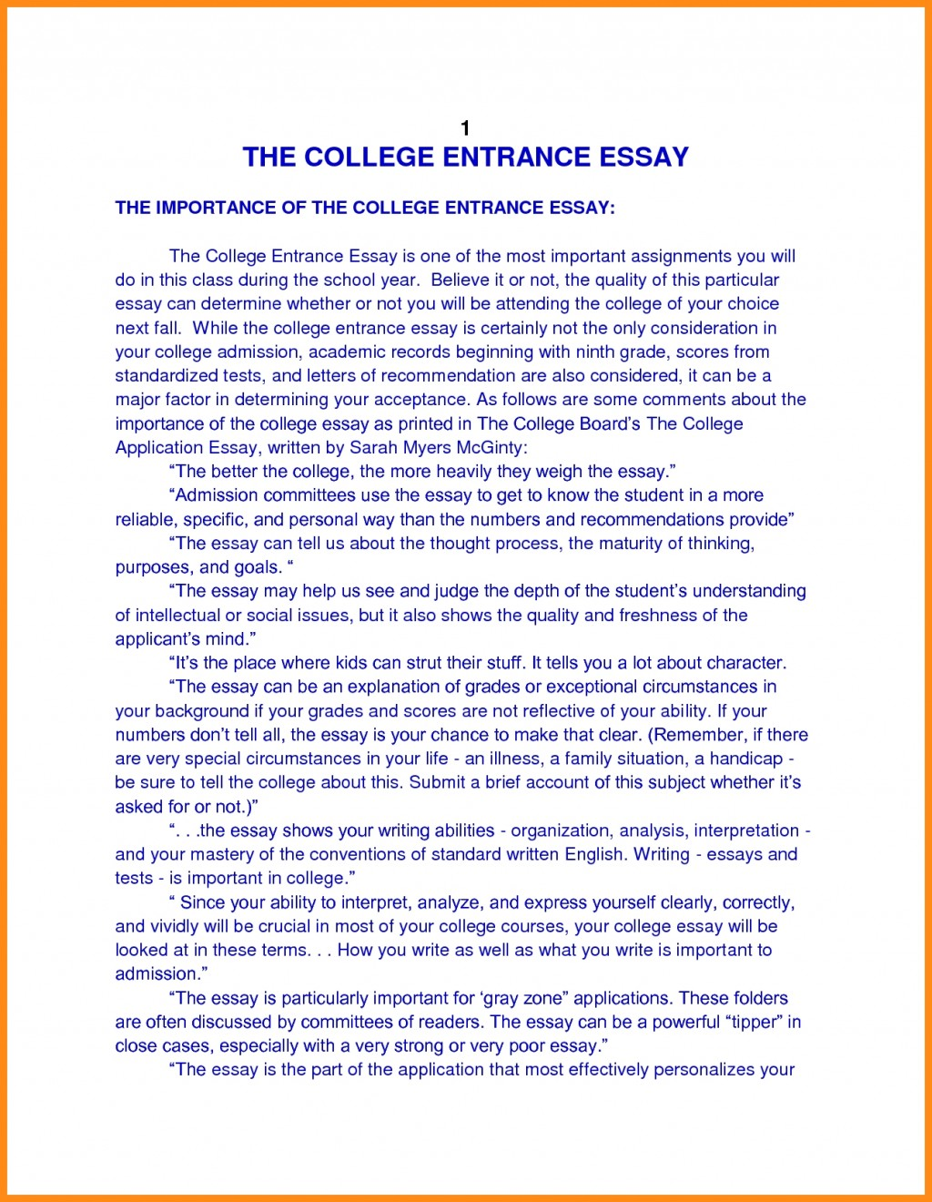 016 Essay Example College Application Heading Revive210618 Com Autobiography Format For Publish Margins Entrance Personal Papers Incredible Admissions Large