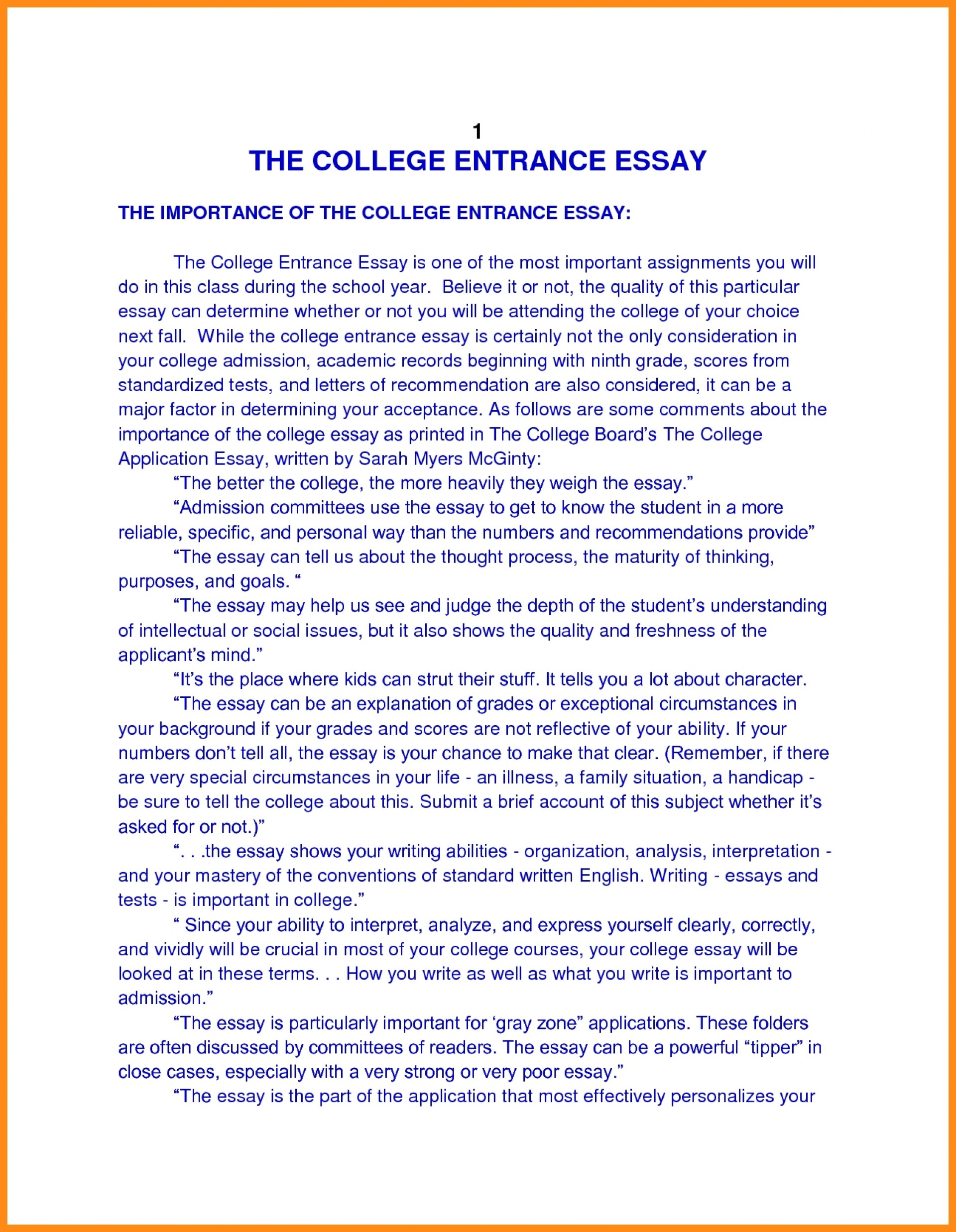 016 Essay Example College Application Heading Revive210618 Com Autobiography Format For Publish Margins Entrance Personal Papers Incredible Admissions 1920