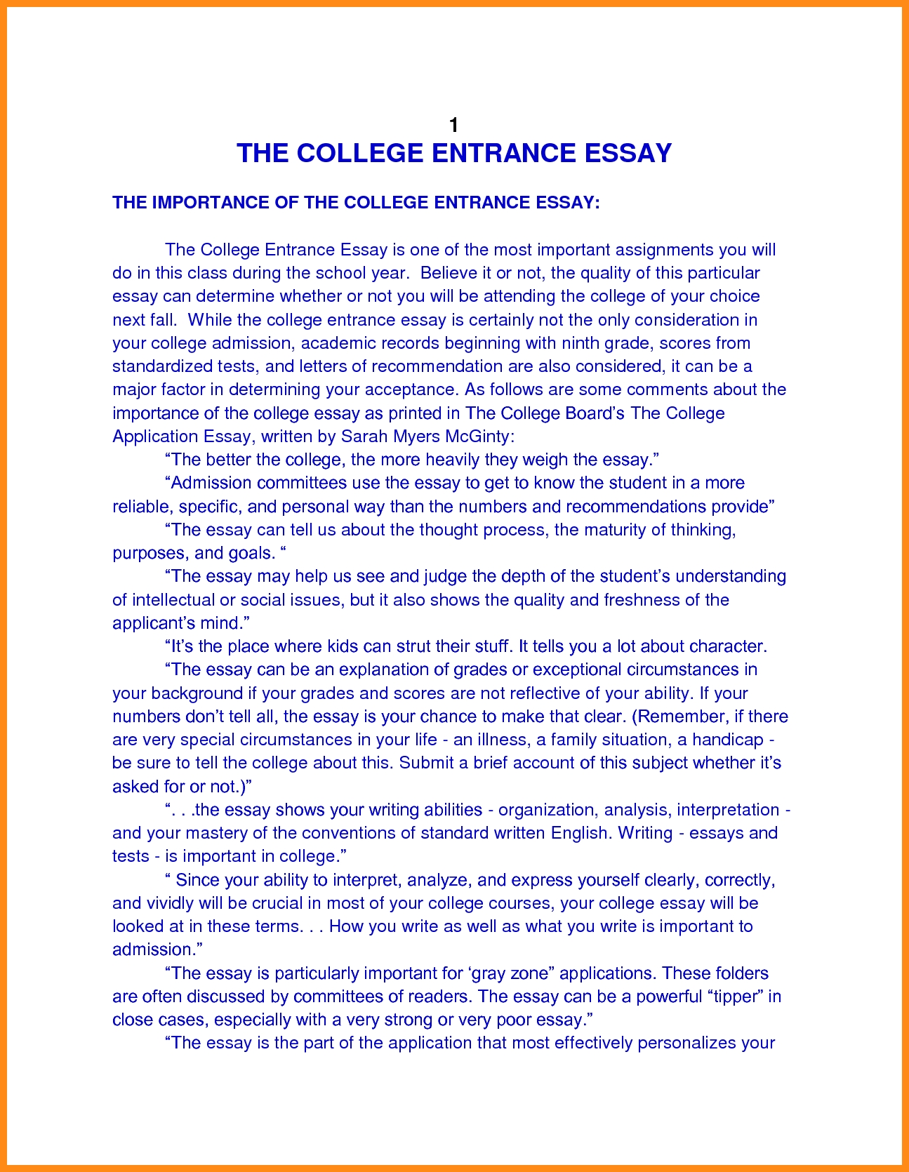 016 Essay Example College Application Heading Revive210618 Com Autobiography Format For Publish Margins Entrance Personal Papers Incredible Admissions Full