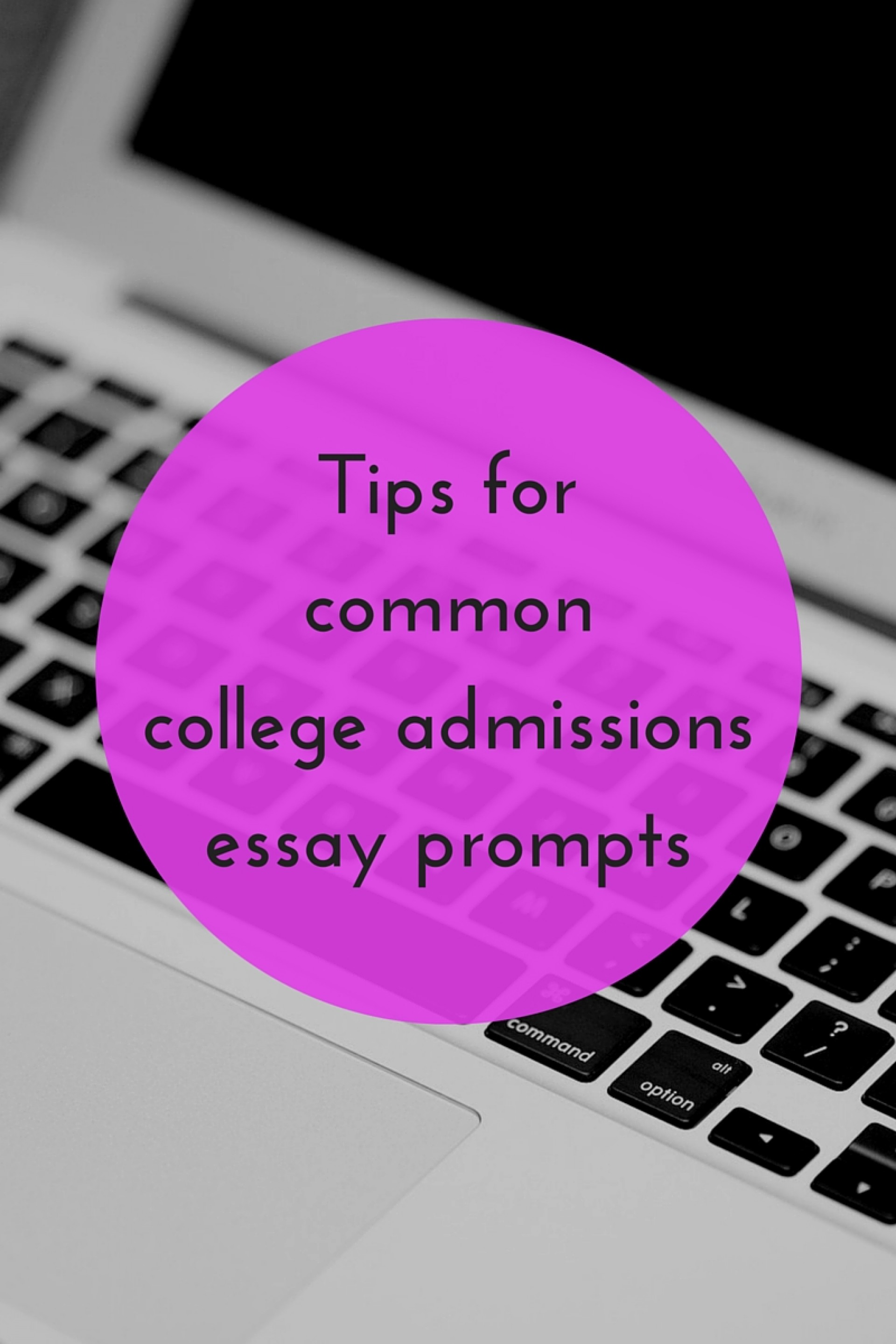 016 Essay Example College Prompts Tips For Common Shocking 2015 Admission 1920