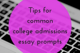 016 Essay Example College Prompts Tips For Common Shocking 2015 Admission