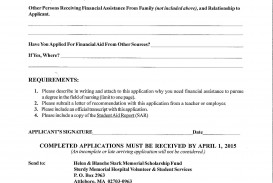 016 Essay Example Descriptive Thesis Helen Blanche Stark Memorial Scholarship Fund Application Page 2 Rare Statements Examples