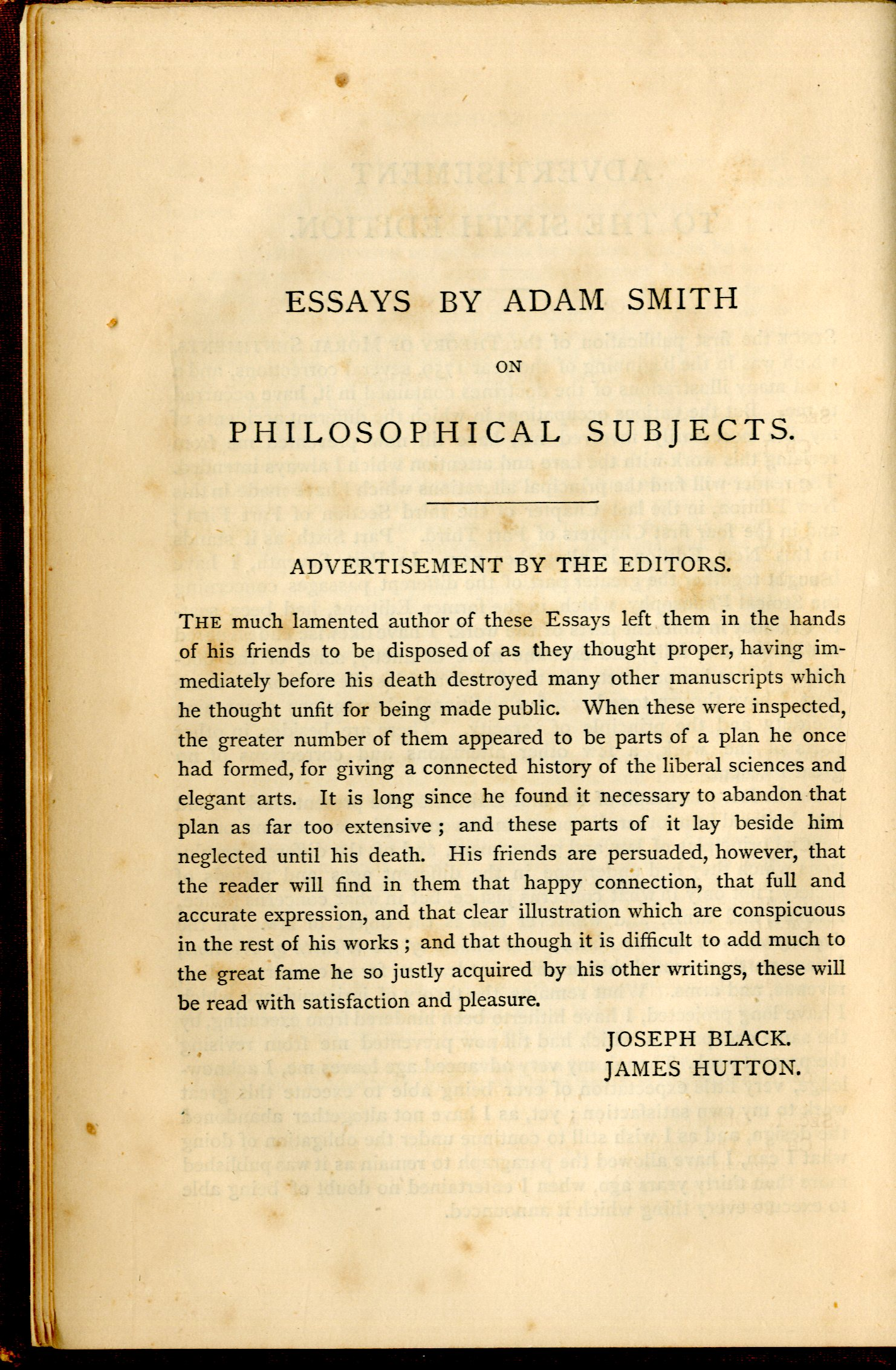 016 Essay Example Essays On Philosophical Best Subjects Smith Pdf Full