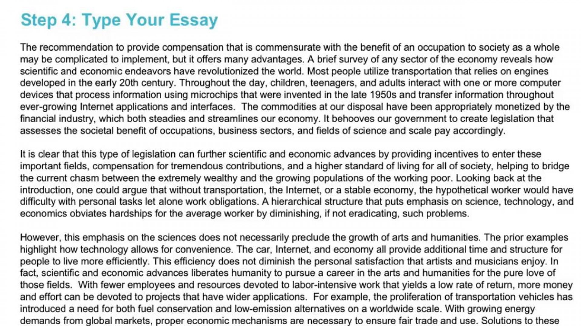 016 Essay Example Gre Argument Template Frightening 1920