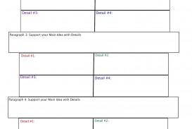 016 Essay Example Informative Graphic Fascinating Organizer Free Informational Pdf 6th Grade