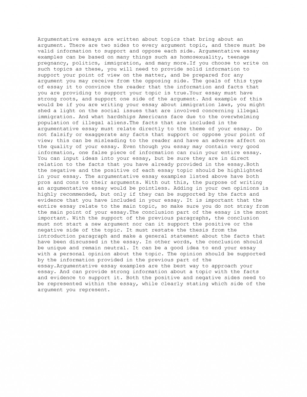 016 Essay Example Of Persuasive Stupendous A Argumentative Bullying On Legalizing Weed Outline Large