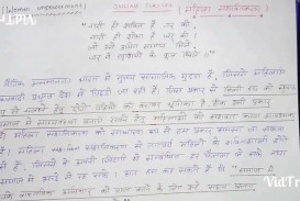 016 Essay Example On Electricity In Hindi Imposing Veto Power Youth Problem Language