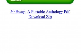 016 Essay Example Page 1 Essays Portable Anthology 4th Edition Awful 50 A Pdf Free