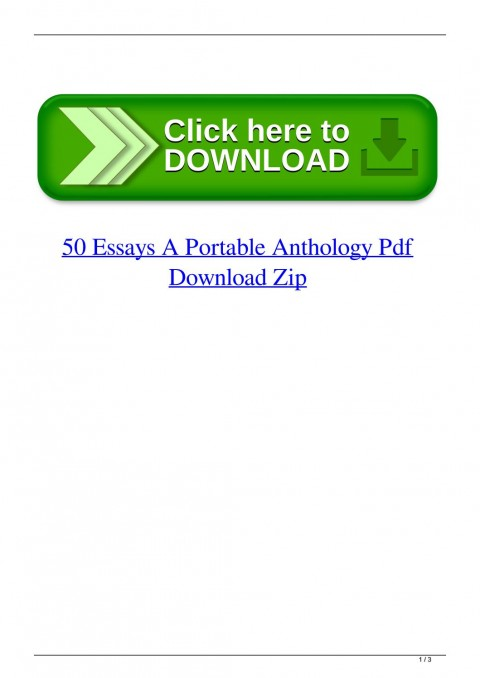 016 Essay Example Page 1 Essays Portable Anthology 4th Edition Awful 50 A Pdf Free 480