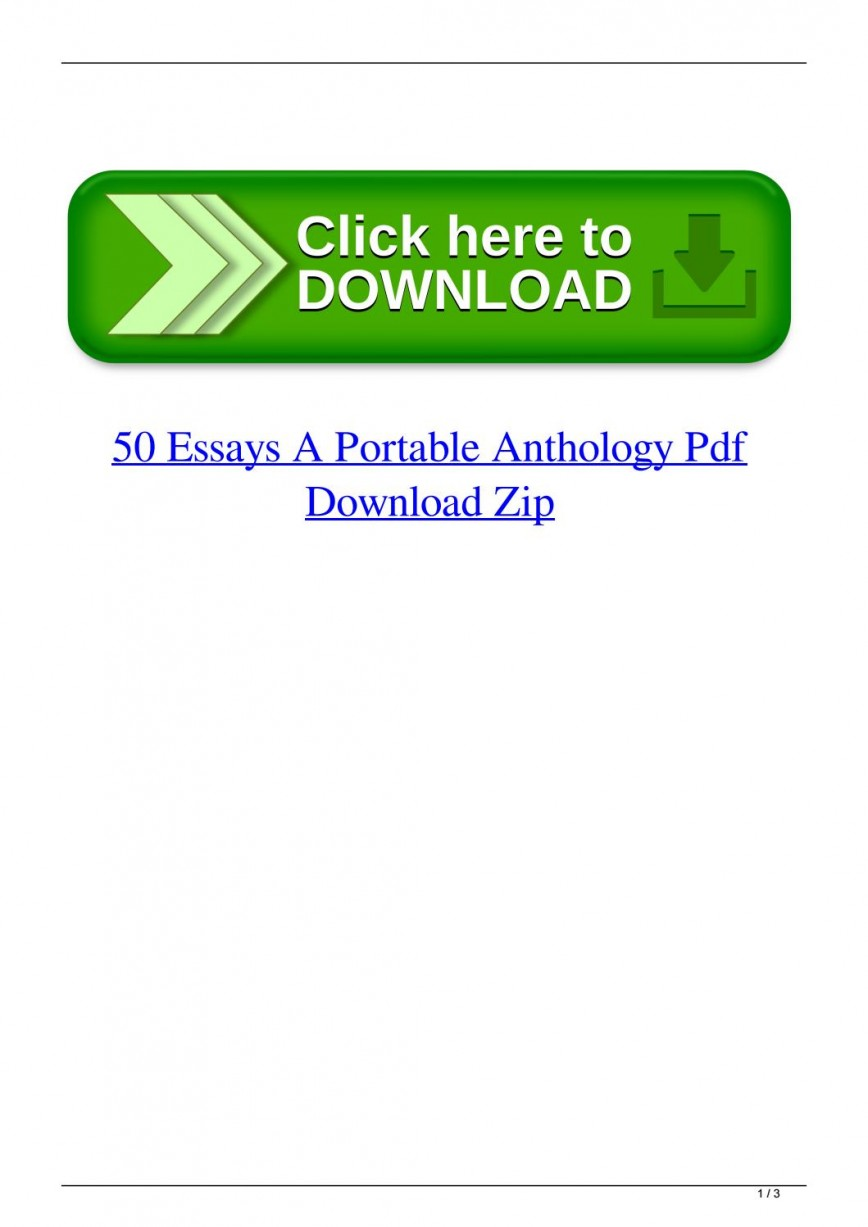 016 Essay Example Page 1 Essays Portable Anthology 4th Edition Awful 50 A Pdf Free 868