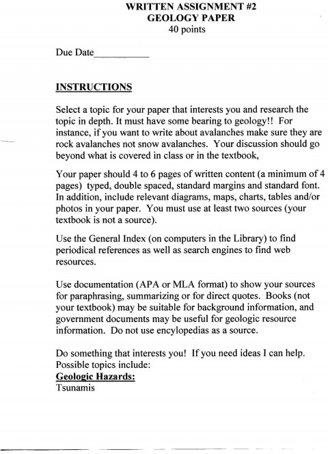 016 Essay Example Process Examples Short Paper Description Page Best Free Pdf Cooking Middle School 480