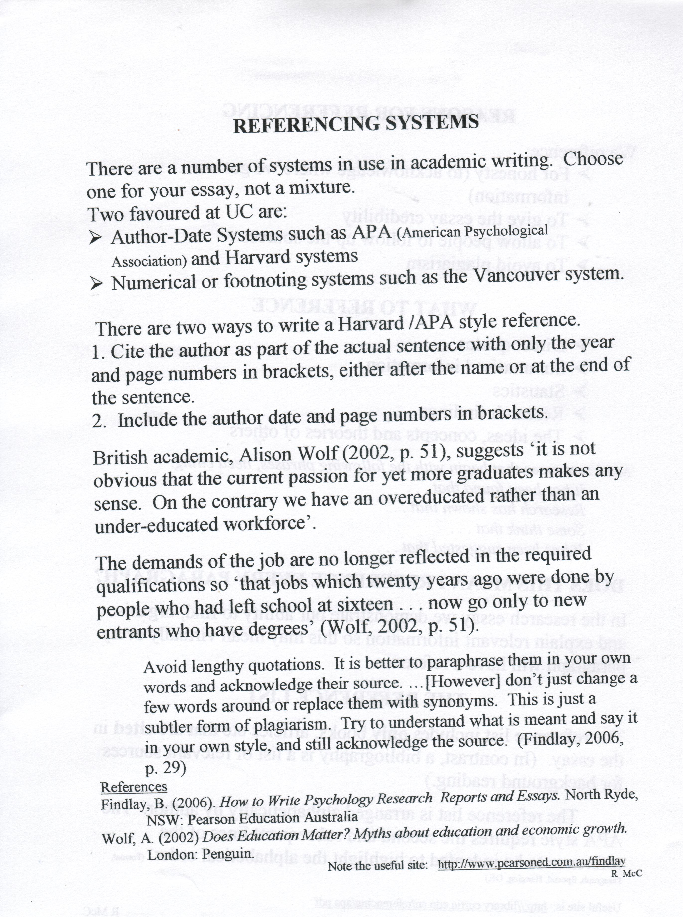 016 Essay Example Quoting In An Cite Essays Work Cited Works How To