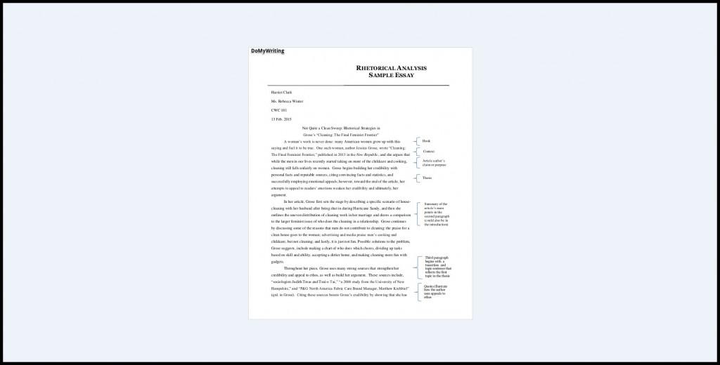 016 Essay Example Rhetorical Impressive Ap Lang Analysis 2016 Devices Examples English Large