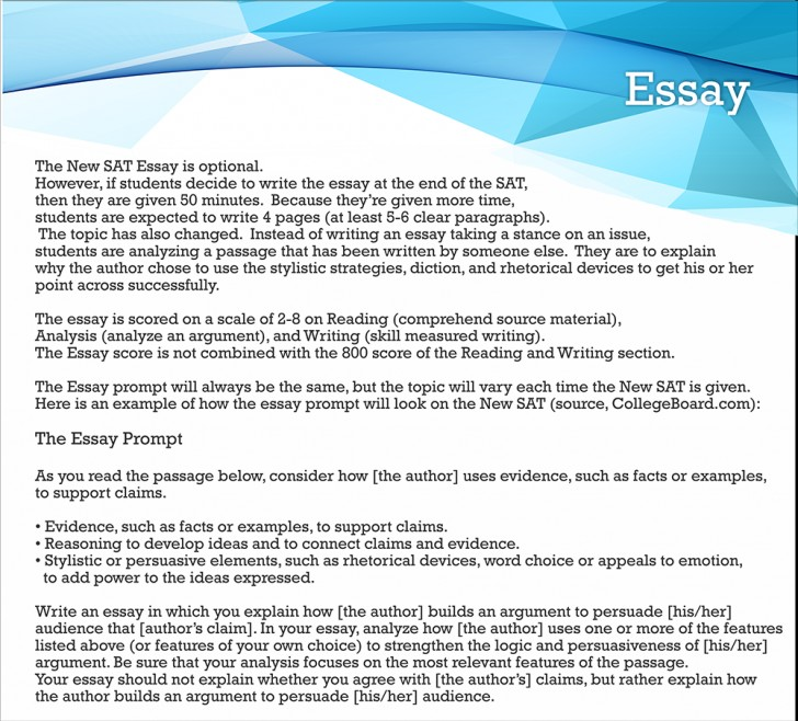 016 Essay Example Sat Stirring Score Average Princeton Writing Percentiles 728