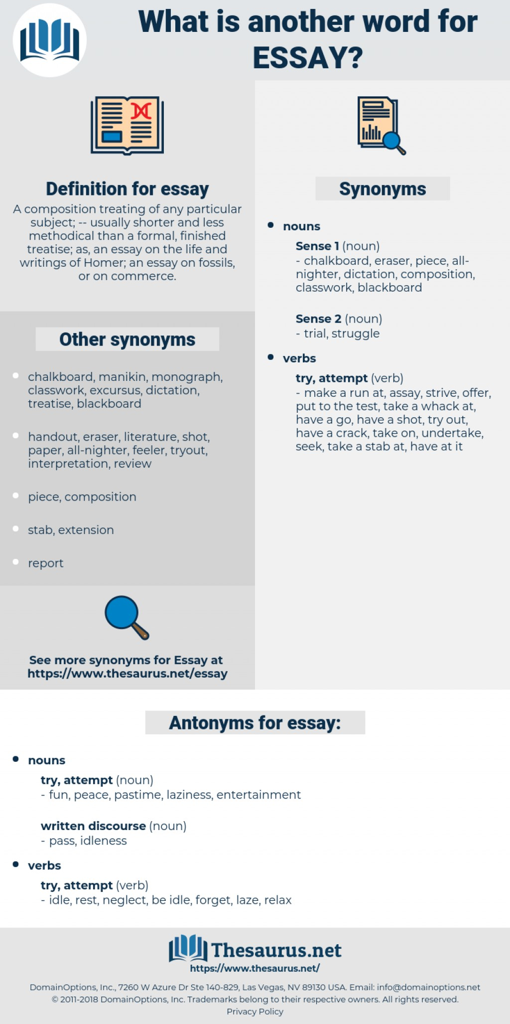 016 Essay Example Synonyms Unique For Writing In Ielts Argumentative Firstly An Large