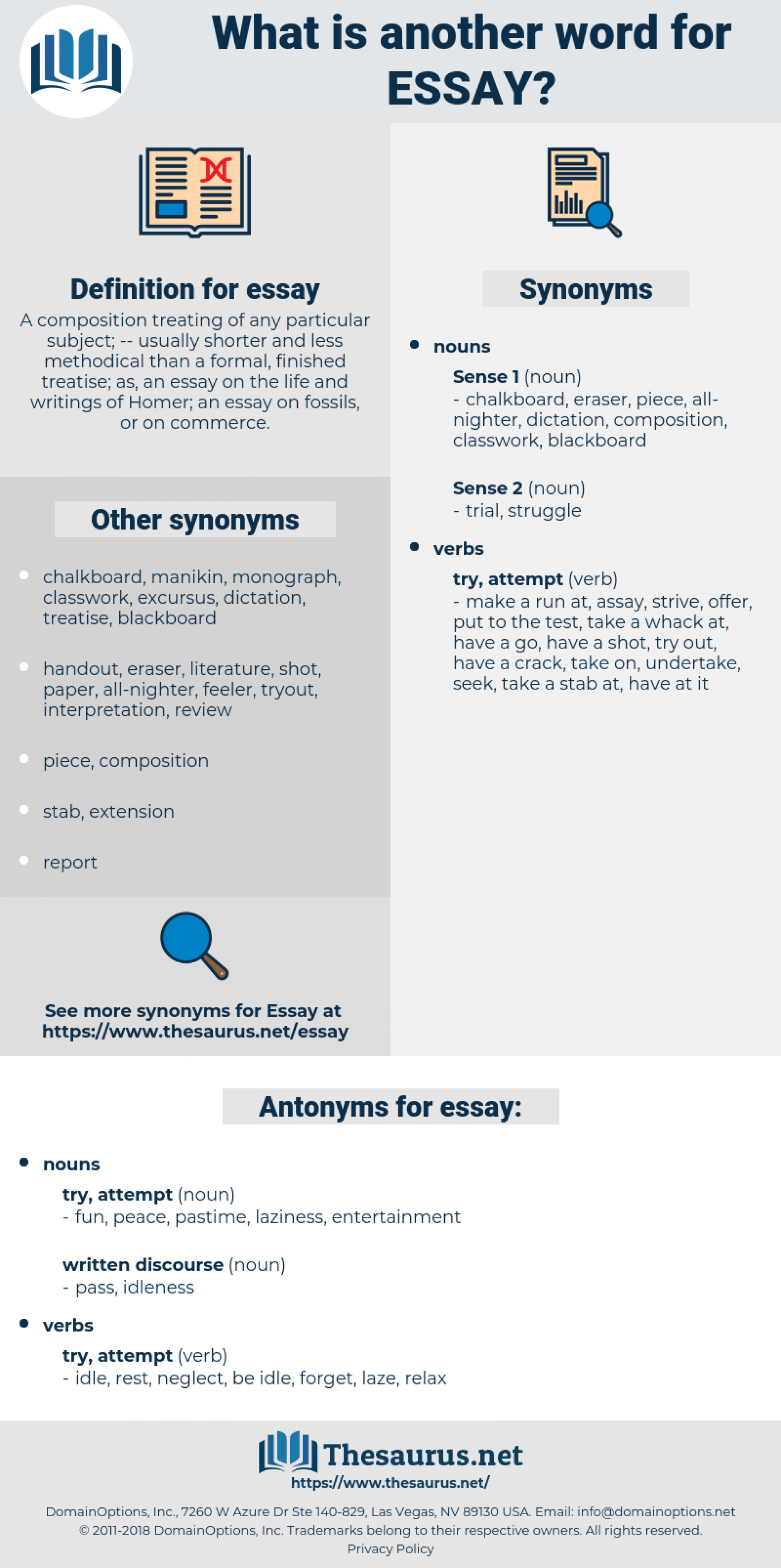 016 Essay Example Synonyms Unique For Writing In Ielts Argumentative Firstly An 1920