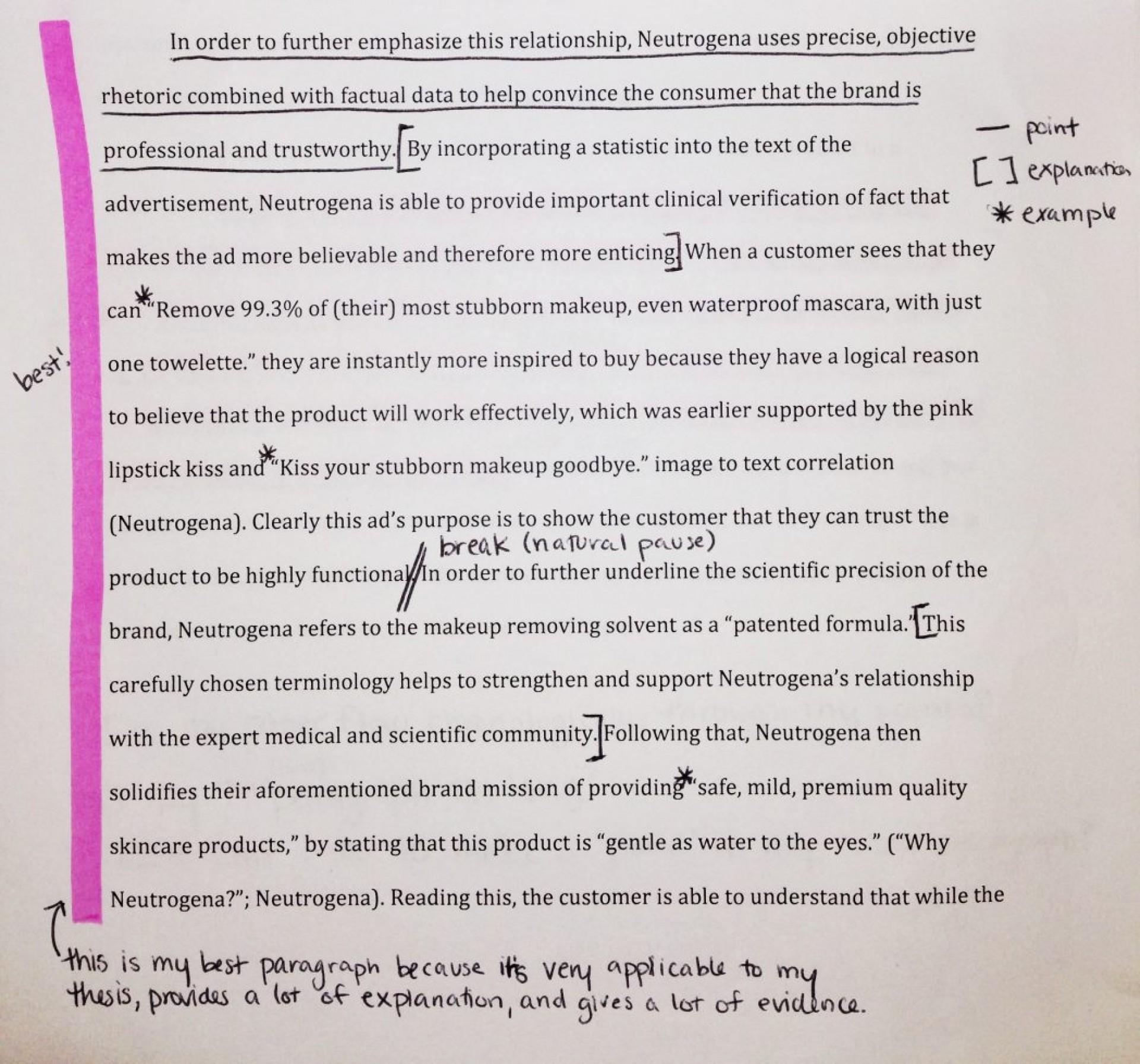 016 Essay Example Visual Rhetoric Of Rhetorical Essays Template Ph Analysis Examples Topics Shocking Response Literacy Arts 1920