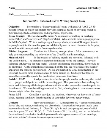 016 Essay Example What Is The Sat Examples Sample Questions L Breathtaking Score Out Of 24 Old 2017 360