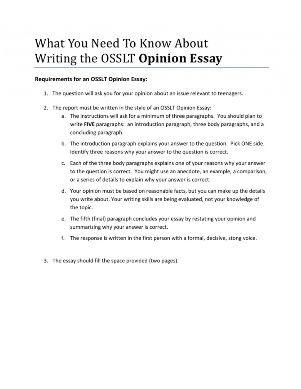 016 Essay Example Writing An Opinion 008843814 1 Shocking How To Write Argumentative 5th Grade Video Large