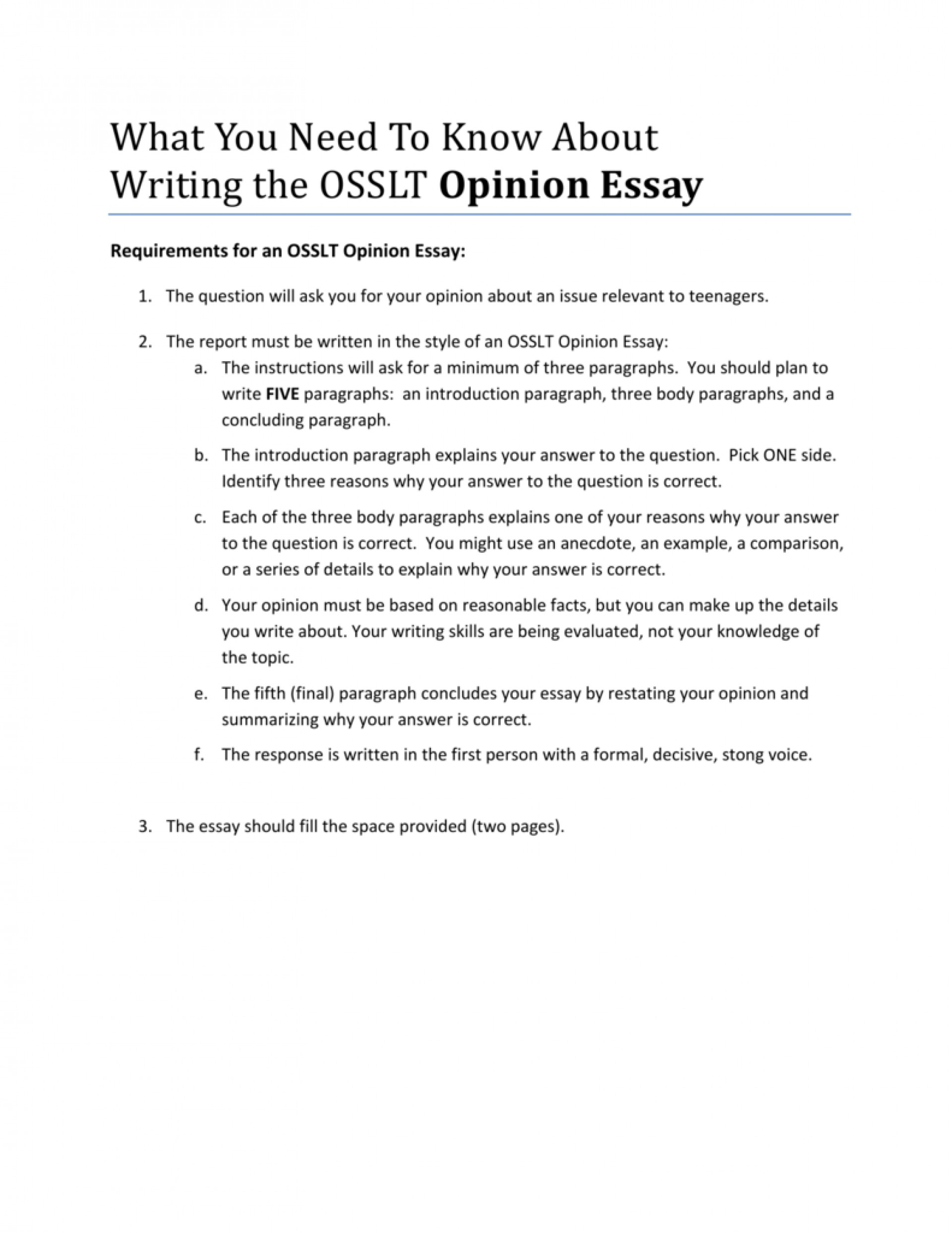 016 Essay Example Writing An Opinion 008843814 1 Shocking How To Write Argumentative 5th Grade Video 1920