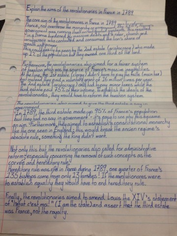 016 Essaysrench Revolution Uqdxjil Example On Questions The Essay Laidoundation Of Democracy Causes And Effects Regents Paris Provinces Conclusion Enlightenment Napoleon 936x1248 Phenomenal French Outline Titles 360