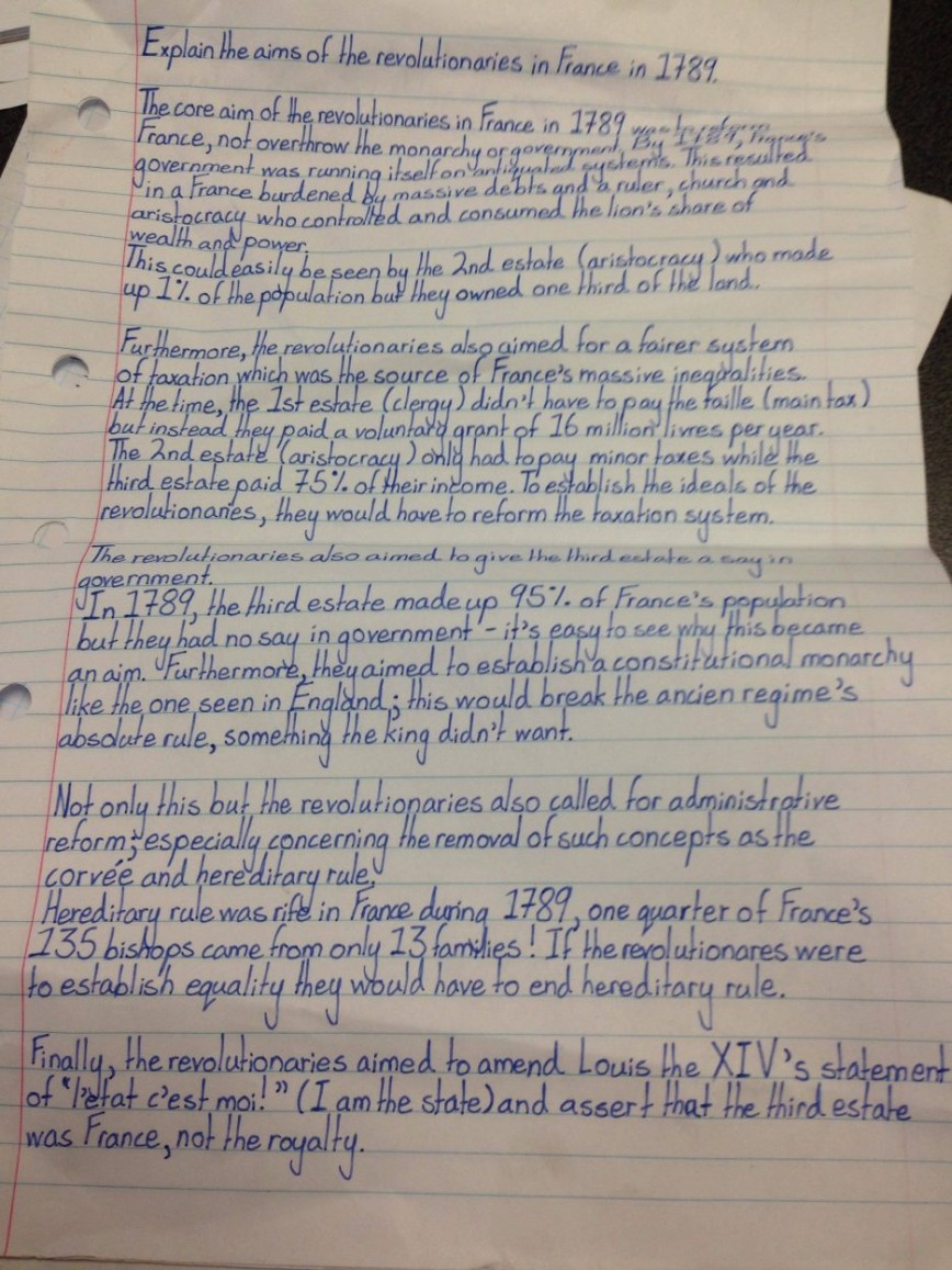 016 Essaysrench Revolution Uqdxjil Example On Questions The Essay Laidoundation Of Democracy Causes And Effects Regents Paris Provinces Conclusion Enlightenment Napoleon 936x1248 Phenomenal French Outline Titles 868
