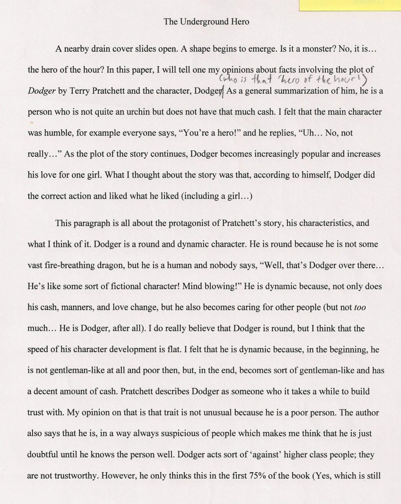 Definition essay success