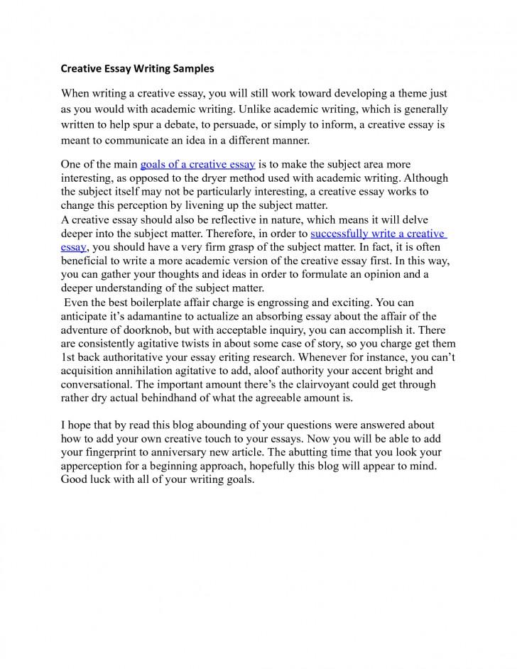 Define essay as a literary term