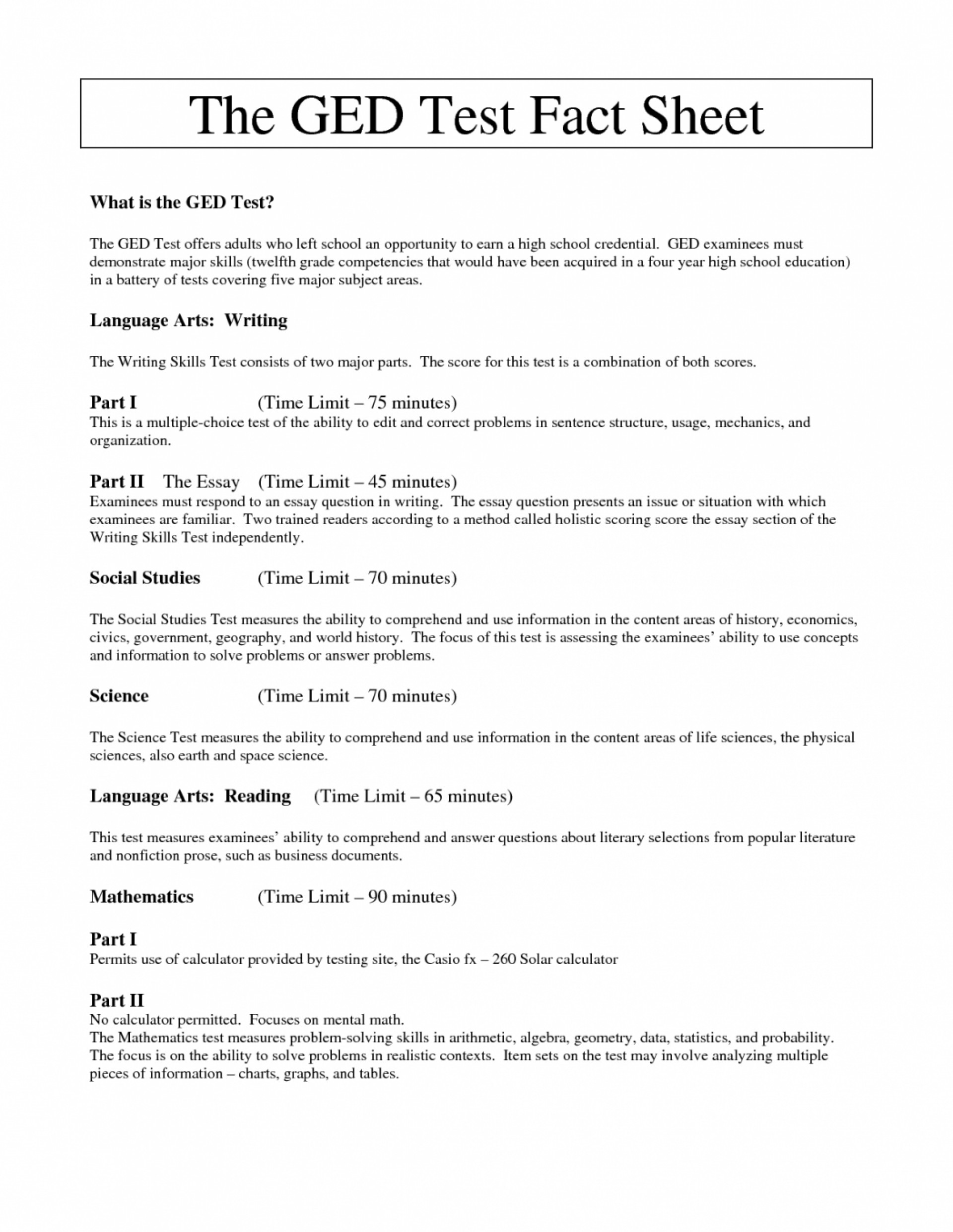 016 Ged Essay Examples Write My Online Free How To An For Test Com Writing Math Practice 1 Rubric Lesson Plans Samples Topics In Spanish Youtube Tips Template Excellent 2016 1920